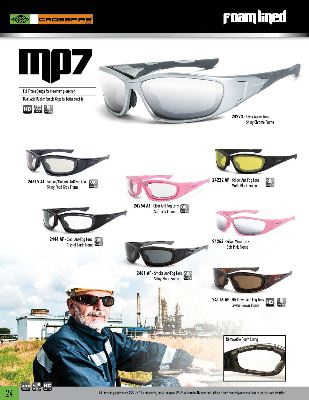 43aa7c4882 Crossfire Safety Eyewear  Foam-Lined Safety Spectacles   Crossfire ...